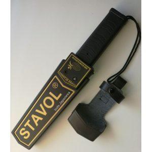 Paleta detectora de metales