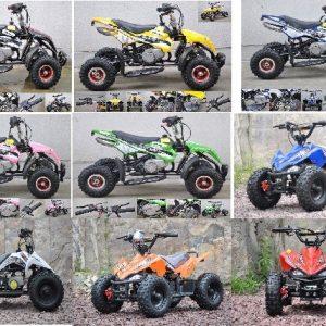 Mini Moto ATV 49cc 2T aro 4 y 6