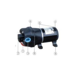 Bomba agua 12,5 L/min 12vdc FL-35 liquidos