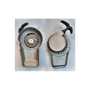 Tirador de partida aluminio c/engr aluminio