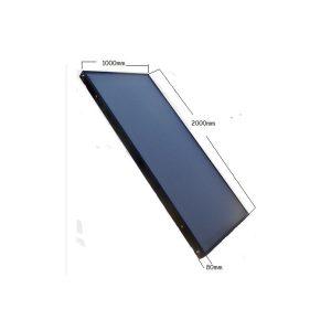 Panel Colector Solar Plano Flat 1x2