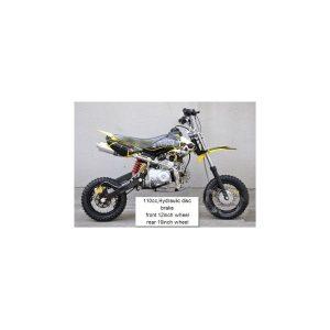 Moto Pit Bike 110cc negro