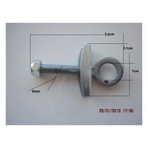 Tirante Ajuste Cadena 4,0cm-DI-1cm