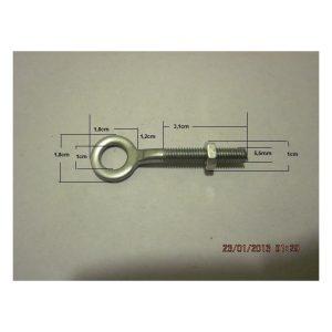 Tirante Ajuste Cadena 4,5cm-DI-1cm