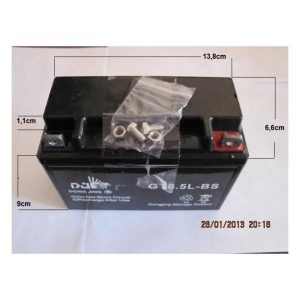 Bateria Moto 12v6,5Ah/10Hr GT6.5-BS ** 140x065x100