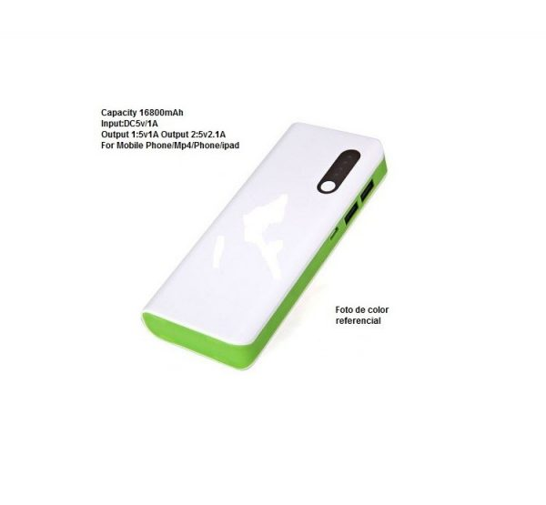 Cargador Bateria Portatil Celulares 16800mAh