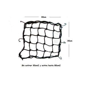 Malla pulpo elastico negro