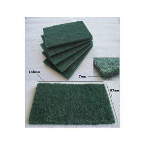 Pack 5 Esponja Fibra verde 148x97x7mm