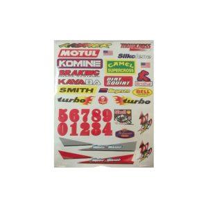 Sticker ATV Motos Scooter 03