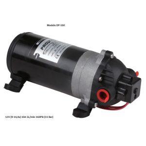 Bombas agua DP-160 12v 5L/min 10A 160PSI