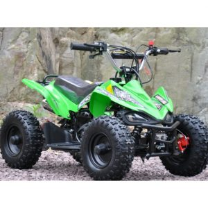 Mini moto atv 49cc 2T aro 6 Cuadrimoto Verde