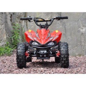 Mini moto atv 49cc 2T aro 6 Cuadrimoto Roja