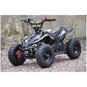 Mini moto atv 49cc 2T aro 6 Cuadrimoto Negra