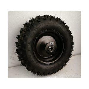 Rueda 6D 4.10-6 Neumático, Llanta, Camara, Rodamiento