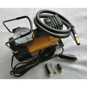 Mini Compresor Metalico dorado