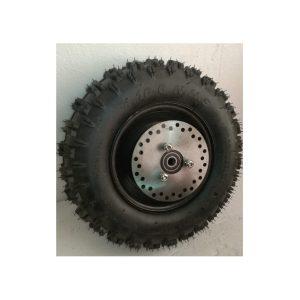 Rueda 6D 4.10-6 Neumático, Llanta, Camara, Disco