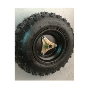 Neumático 06D 13x5.00-6 , c/Llanta 06D, Maza 3P y Cámara