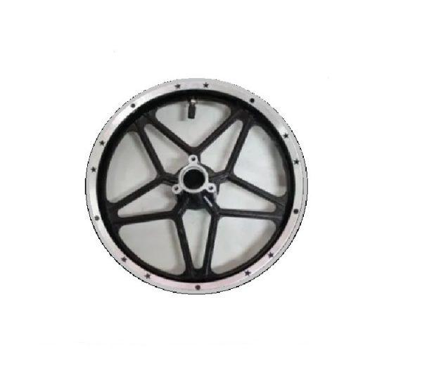 Llanta 10D 2.50-10 Alum negra mini moto cros 49cc